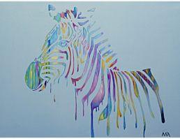 Zebrafarbe