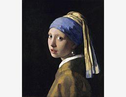 Jan Vermeer: Das Mädchen mit dem Perlenohrgehänge