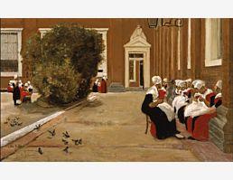 Amsterdamer Waisenmädchen