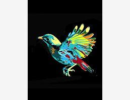 Vogeltarnungsblau