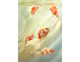 Goldfischbecken