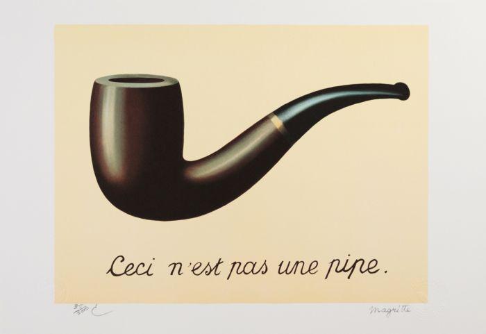 Rene Magritte Der Verrat der Bilder