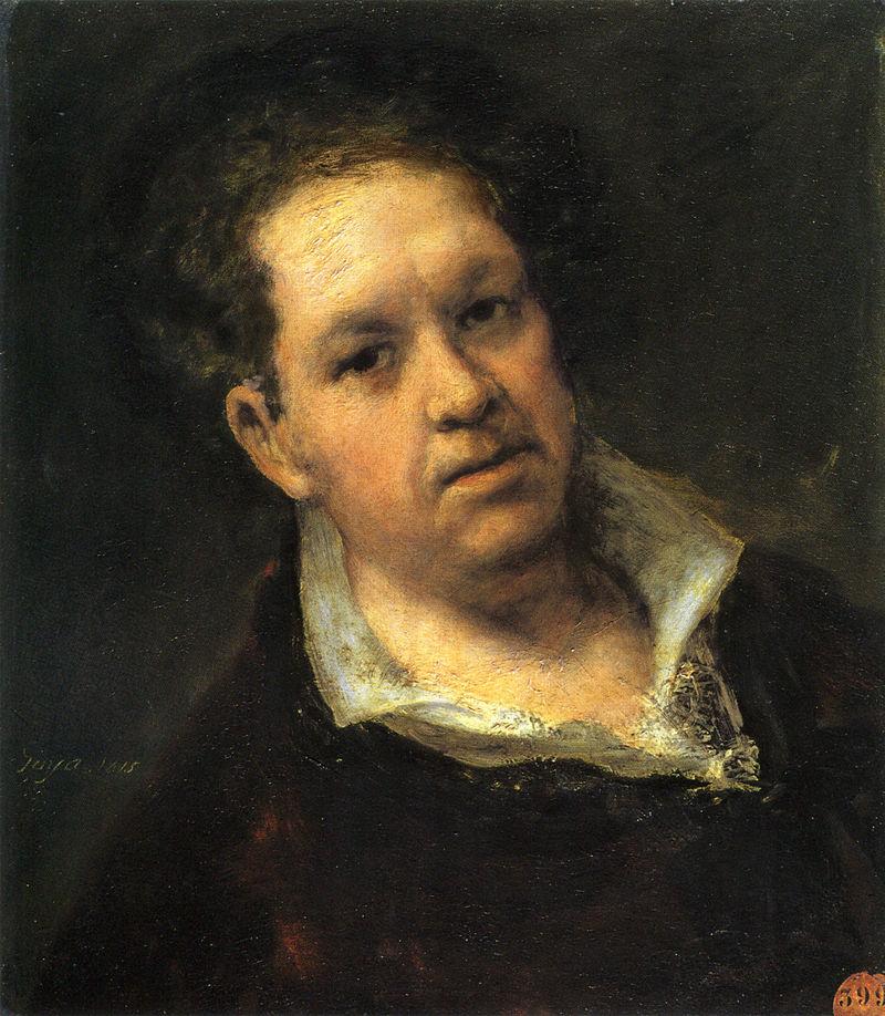 Francisco de Goya Selbstbildnis