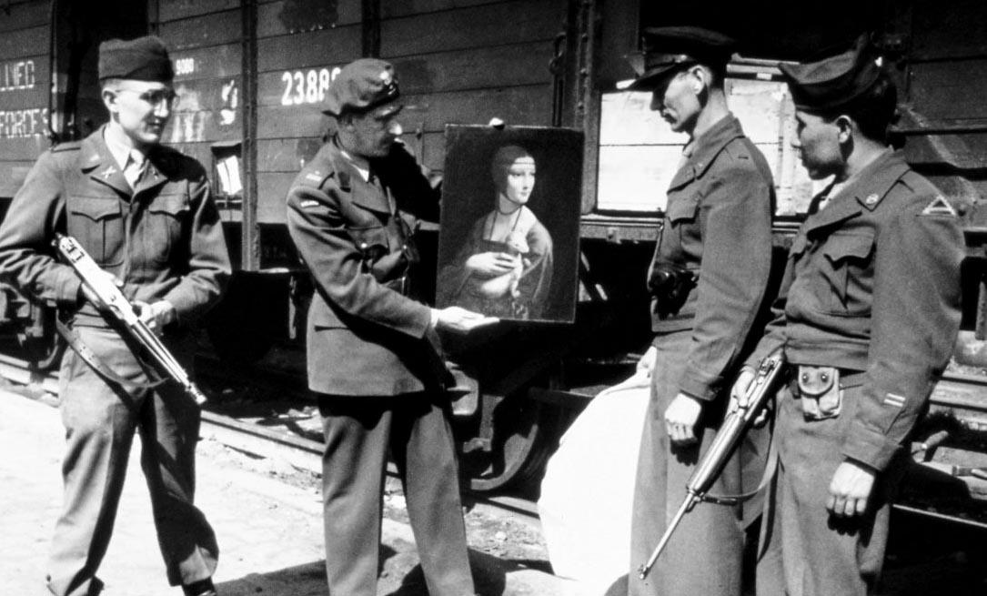 Dame mit dem Hermelin und Monuments Men 1946