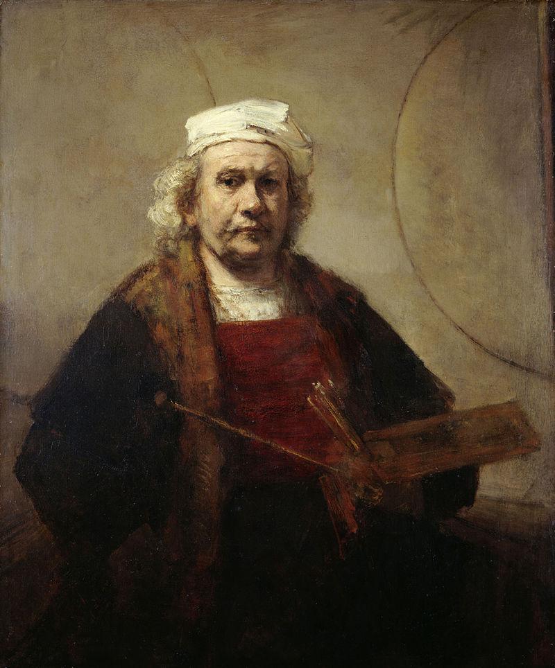 Rembrandt Selbstbildnis