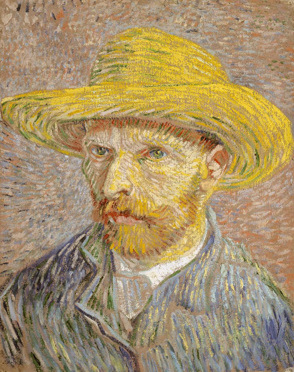 Van Gogh im Selbstporträt