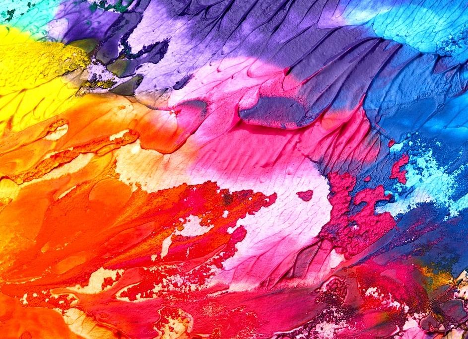 Berühmte Gemälde - Farbe