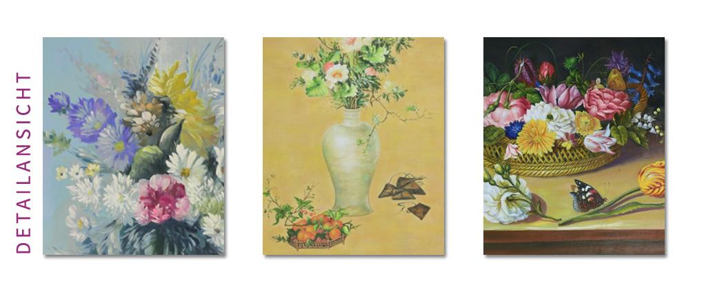 Ölgemälde Blumen klassisches Stillleben